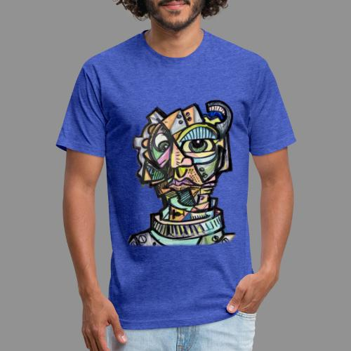 The Machinist - Fitted Cotton/Poly T-Shirt by Next Level