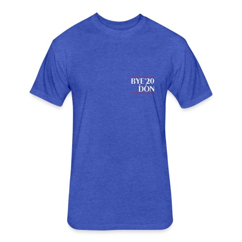 Bi-Den, Funny Political Pun - Fitted Cotton/Poly T-Shirt by Next Level