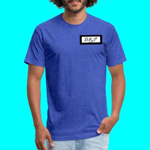 Drip - Fitted Cotton/Poly T-Shirt by Next Level