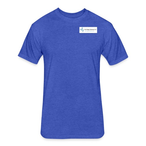 Rx Sleep Science Logo - Fitted Cotton/Poly T-Shirt by Next Level
