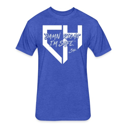 Dodgers_DRIS - Fitted Cotton/Poly T-Shirt by Next Level