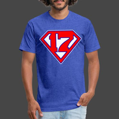 Super 17 - Fitted Cotton/Poly T-Shirt by Next Level