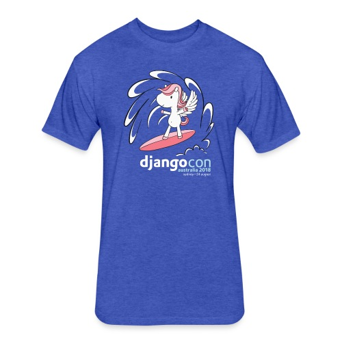 DjangoCon Australia 2018 - Fitted Cotton/Poly T-Shirt by Next Level