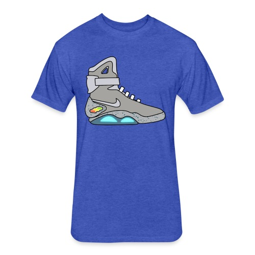 Air Mags - Fitted Cotton/Poly T-Shirt by Next Level