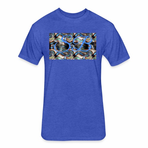 Shnizytheman - Fitted Cotton/Poly T-Shirt by Next Level