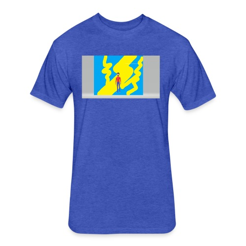 jj mine - Fitted Cotton/Poly T-Shirt by Next Level