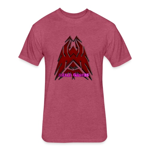 3XILE Games Logo - Fitted Cotton/Poly T-Shirt by Next Level