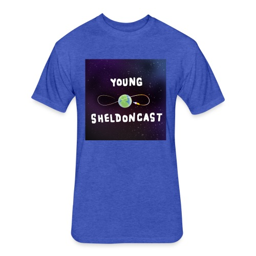 Young Sheldoncast - Fitted Cotton/Poly T-Shirt by Next Level