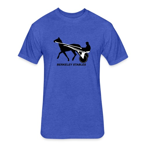 Berkeley Stables - Fitted Cotton/Poly T-Shirt by Next Level