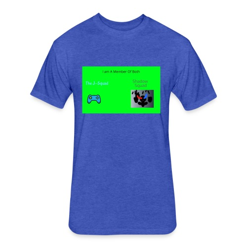 Shadow and J_Squad Shirt - Fitted Cotton/Poly T-Shirt by Next Level