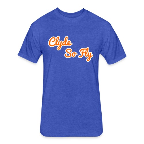 Clyde So Fly Classic - Fitted Cotton/Poly T-Shirt by Next Level