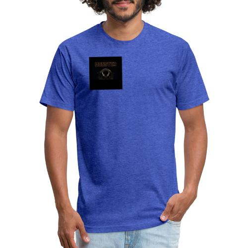 Monster - Fitted Cotton/Poly T-Shirt by Next Level