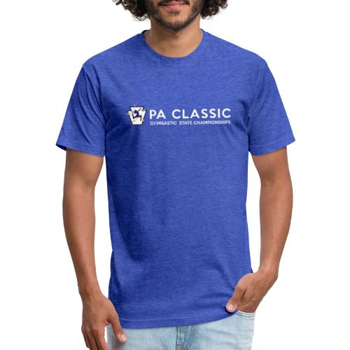 PA Classic Horizontal - Fitted Cotton/Poly T-Shirt by Next Level