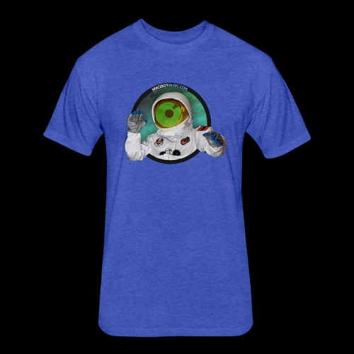 Spaceboy Music Logo - Fitted Cotton/Poly T-Shirt by Next Level