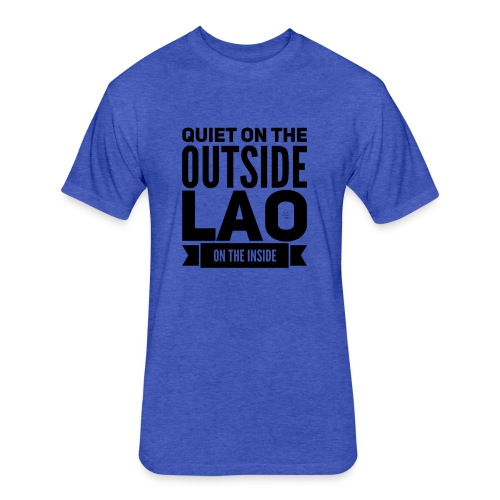 Quiet - Fitted Cotton/Poly T-Shirt by Next Level