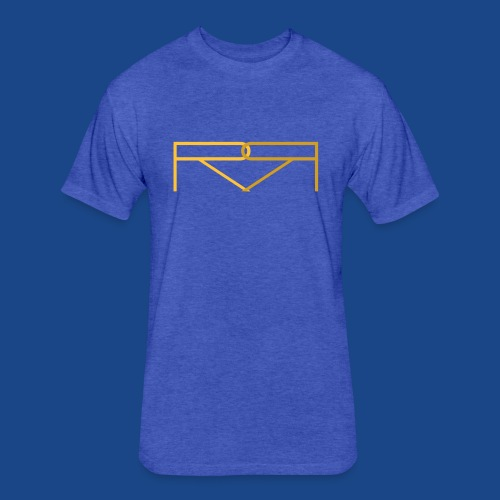 ronald renee gold - Fitted Cotton/Poly T-Shirt by Next Level