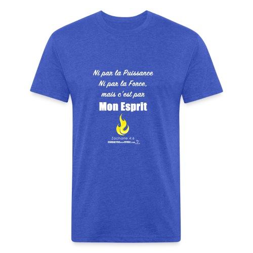 Par Mon Esprit - T-shirt ajusté poly/coton pour hommes