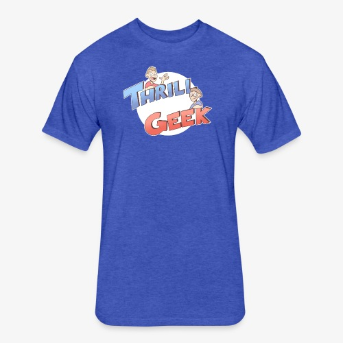 ThrillGeek Podcast Logo Shirt - Fitted Cotton/Poly T-Shirt by Next Level