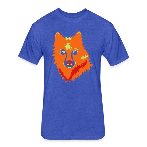 awesome t-shirts - Fitted Cotton/Poly T-Shirt by Next Level
