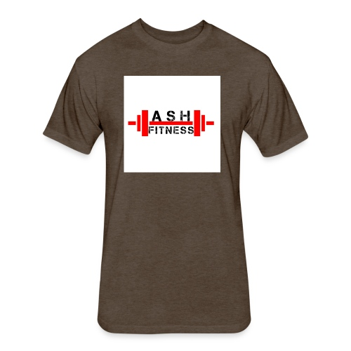 ASH FITNESS MUSCLE ACCESSORIES - Fitted Cotton/Poly T-Shirt by Next Level