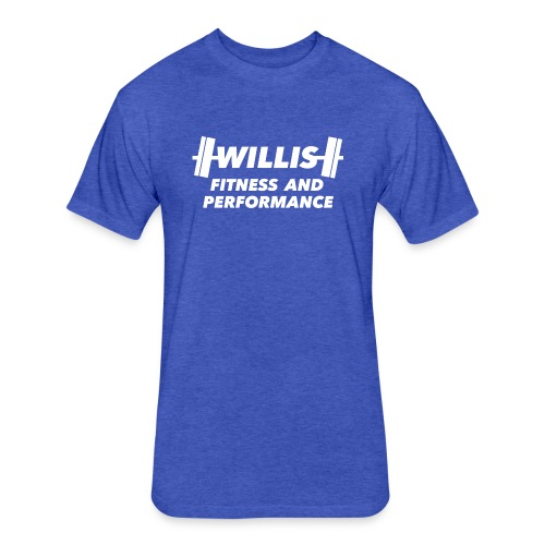 WILLIS FITNESS AND PERFORMANCE - Fitted Cotton/Poly T-Shirt by Next Level