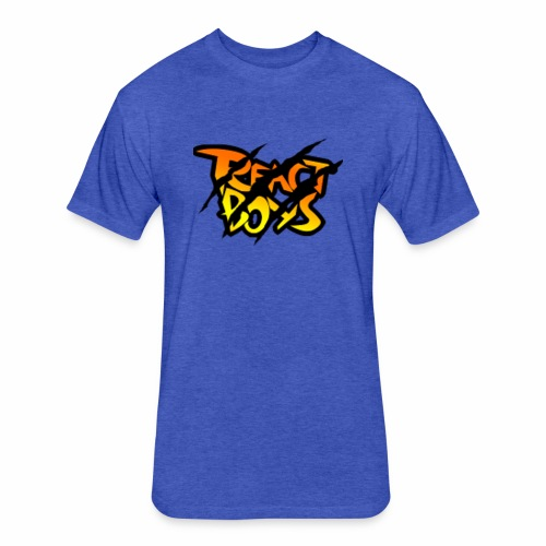 REACT BOYS/MarkZ - Fitted Cotton/Poly T-Shirt by Next Level