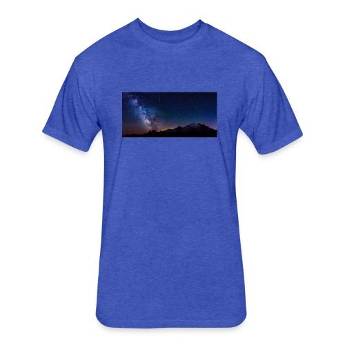 SlickSky - Fitted Cotton/Poly T-Shirt by Next Level