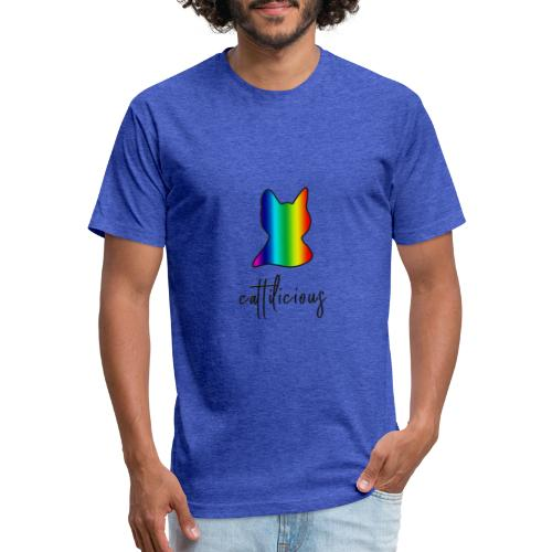 cat tilicious - Fitted Cotton/Poly T-Shirt by Next Level