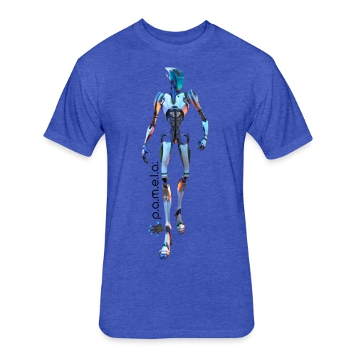 P.A.M.E.L.A. Seeker - Fitted Cotton/Poly T-Shirt by Next Level