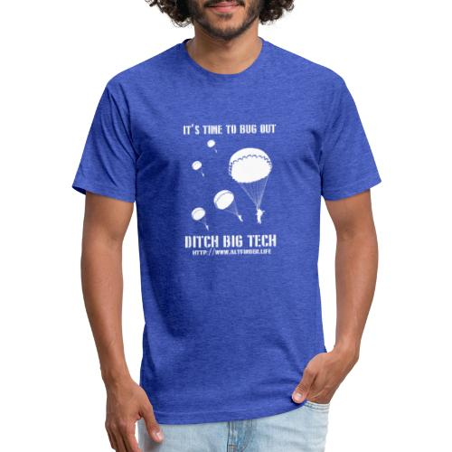 It's Time To Bug Out - Fitted Cotton/Poly T-Shirt by Next Level