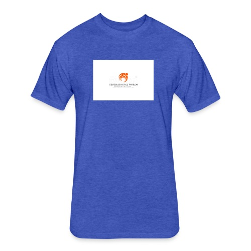 Expression is the legacy that I leave to my family - Fitted Cotton/Poly T-Shirt by Next Level