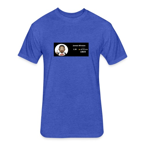 Winston Uber - Fitted Cotton/Poly T-Shirt by Next Level