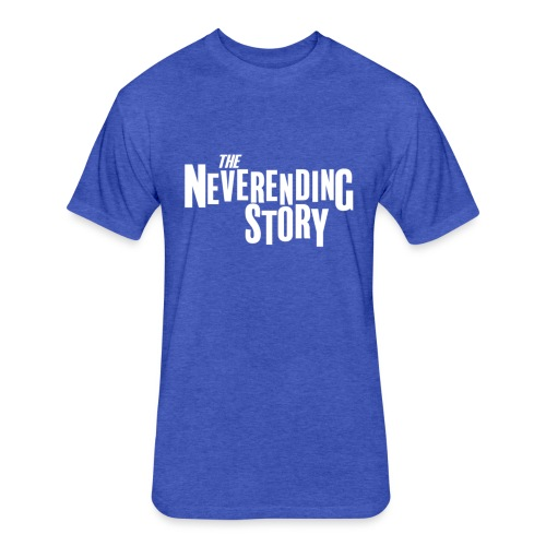 Neverending Story - Fitted Cotton/Poly T-Shirt by Next Level