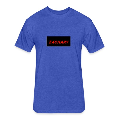 ZACHARY LOGO 9 - Fitted Cotton/Poly T-Shirt by Next Level