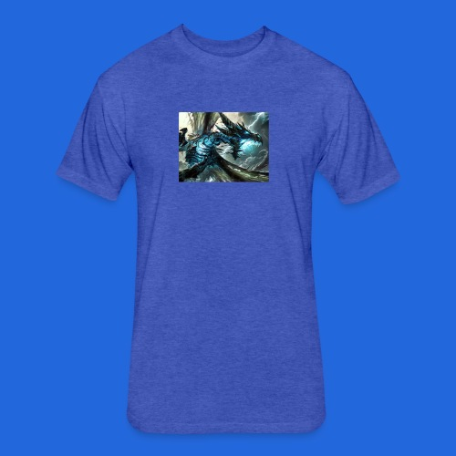 Lig dragon - Fitted Cotton/Poly T-Shirt by Next Level