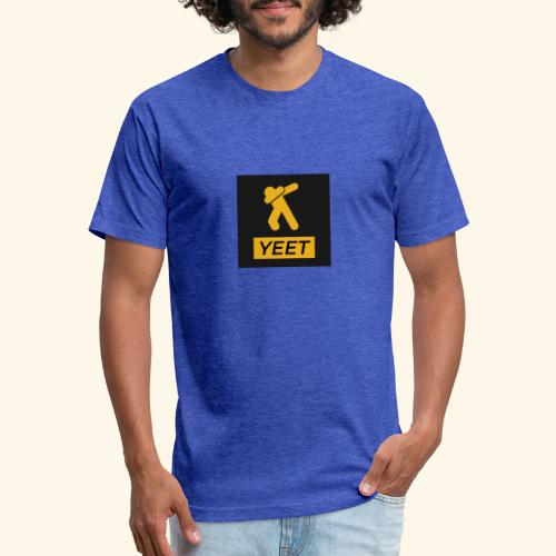yeet- Meme Worthy Apparel - Fitted Cotton/Poly T-Shirt by Next Level