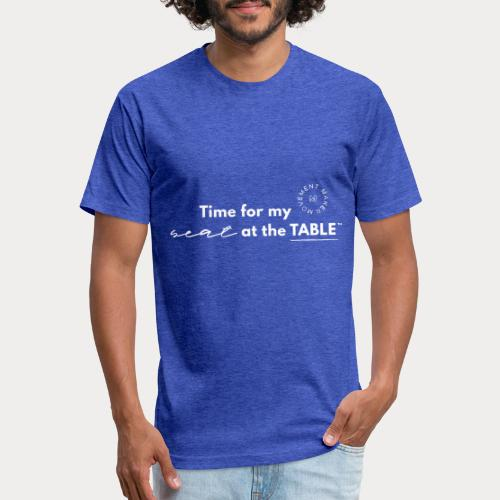 My Seat at the Table - Fitted Cotton/Poly T-Shirt by Next Level