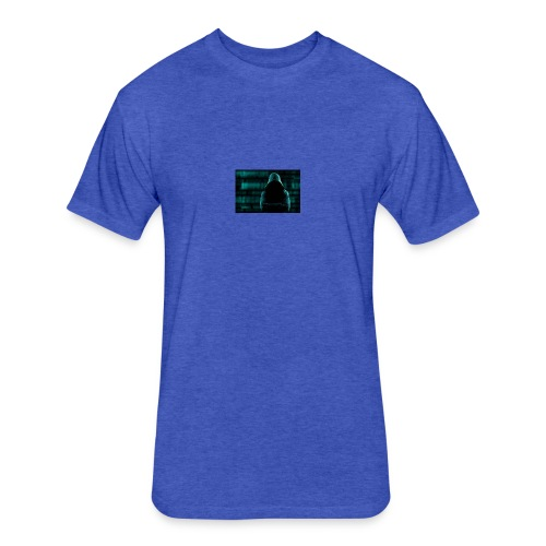 javascript alert 1 - Fitted Cotton/Poly T-Shirt by Next Level