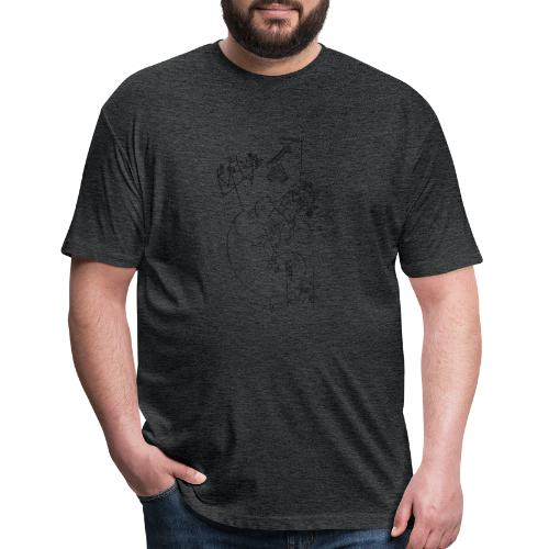 Today - Fitted Cotton/Poly T-Shirt by Next Level
