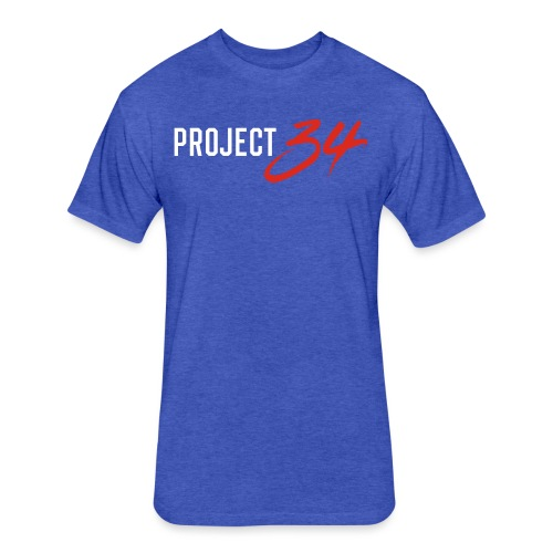 Blue Jays_Project 34 - Fitted Cotton/Poly T-Shirt by Next Level