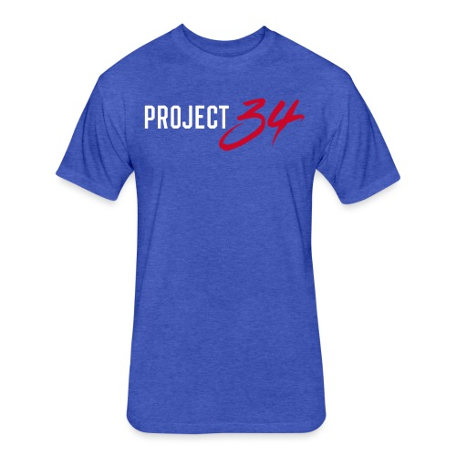 Cubs_Project 34 - Fitted Cotton/Poly T-Shirt by Next Level