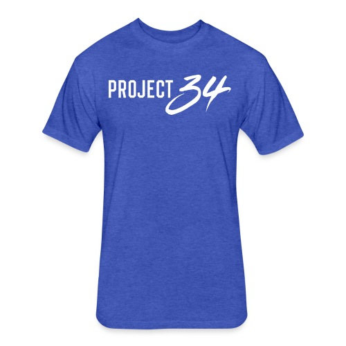 Royals_Project 34 - Fitted Cotton/Poly T-Shirt by Next Level