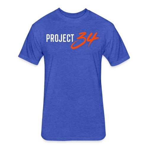 Mets_Project 34 - Fitted Cotton/Poly T-Shirt by Next Level