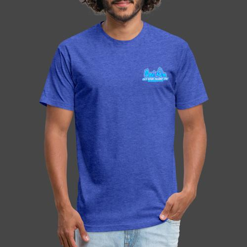 Maui Jim Songs - Fitted Cotton/Poly T-Shirt by Next Level