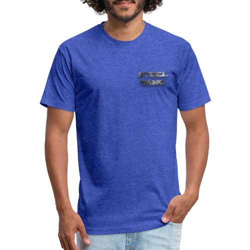 STEEL WING - Fitted Cotton/Poly T-Shirt by Next Level