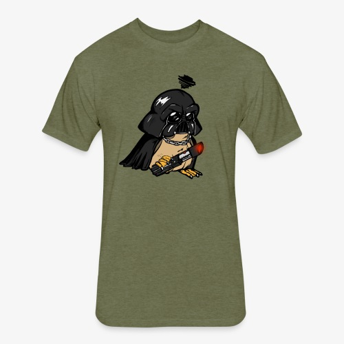 DarthPorg - Fitted Cotton/Poly T-Shirt by Next Level