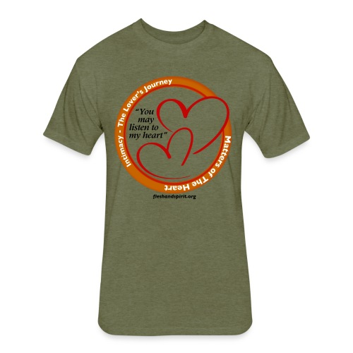 Matters of the Heart T-Shirt: You May - Fitted Cotton/Poly T-Shirt by Next Level