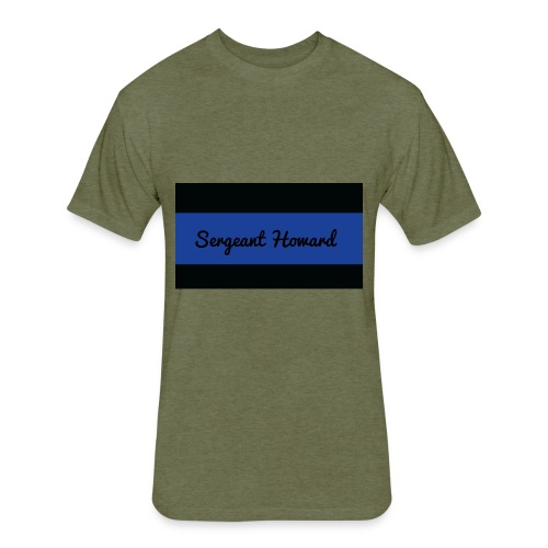 Sergeant Howard Mens T Shirt - Fitted Cotton/Poly T-Shirt by Next Level