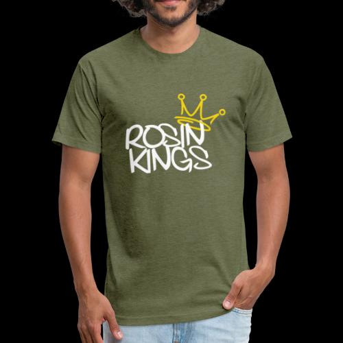 ROSIN KINGS - Fitted Cotton/Poly T-Shirt by Next Level