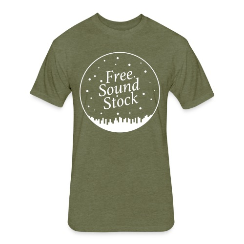 Free Sound Stock - Fitted Cotton/Poly T-Shirt by Next Level